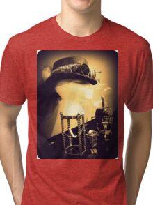 Steampunk Display 1.2 Tri-blend T-Shirt