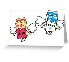 coffee and tv Greeting Card