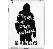 Otter eyes - 12 monkeys iPad Case/Skin