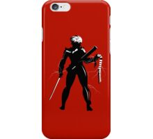 Raiden [Metal Gear Rising] iPhone Case/Skin