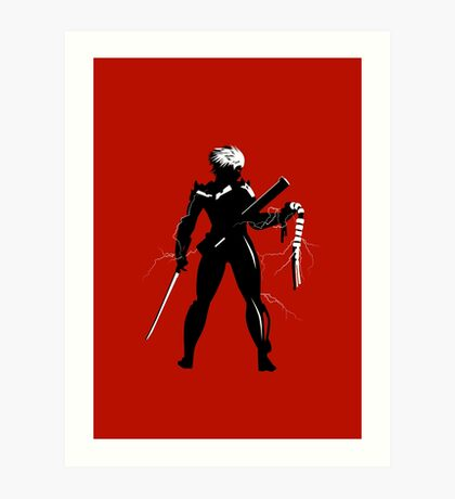 Raiden [Metal Gear Rising] Art Print