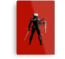Raiden [Metal Gear Rising] Metal Print