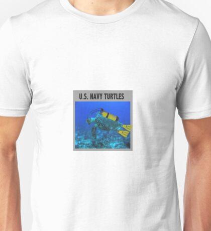 US Navy Turtles Unisex T-Shirt