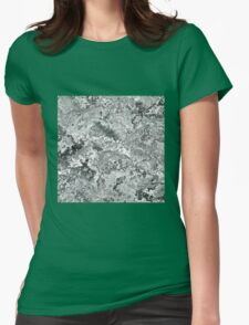 Marble Womens Fitted T-Shirt