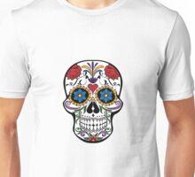 Floral Skull Smart Look Unisex T-Shirt