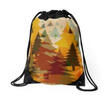 for the trees - Anne Winkler Drawstring Bag