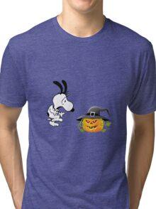 snoopy halloween Tri-blend T-Shirt
