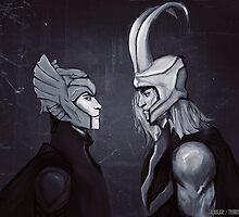 Never Doubt - Thor & Loki by sacroslash