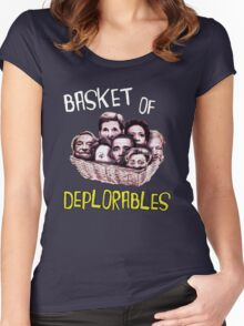 Basket of Deplorables Women's Fitted Scoop T-Shirt