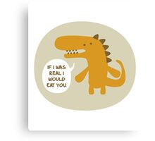 The Not Real Dinosaur Canvas Print