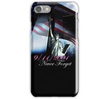 9/11 Never forget iPhone Case/Skin