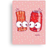 Bacon Soda Canvas Print
