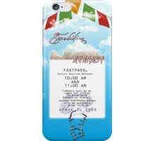Expedition Everest Fastpass iPhone Case/Skin