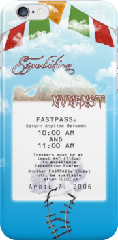 Expedition Everest Fastpass by Margybear