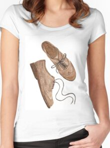 Brogues Women's Fitted Scoop T-Shirt