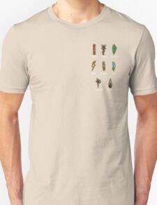 Pokemon - Unova League: Unova Badges 2 Unisex T-Shirt