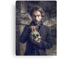 Ichabod and Friend Canvas Print