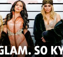 "Kylie Cosmetics ""Gloss"" Print Sticker"