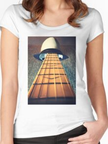Face the music Women's Fitted Scoop T-Shirt