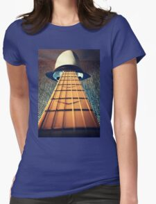 Face the music Womens Fitted T-Shirt