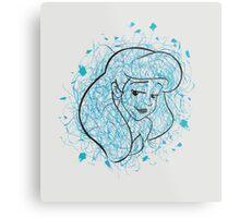 Ariel. Metal Print
