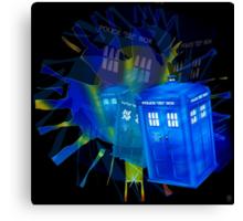 TARDIS STONEHENGE PORTAL Canvas Print