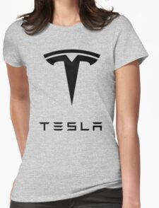 TESLA Womens Fitted T-Shirt