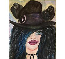 Raven Witch  Photographic Print