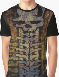spine skull Graphic T-Shirt