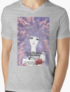 BellaDonna of Sadness Mens V-Neck T-Shirt