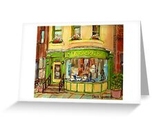 BOUTIQUE LA CACHE MONTREAL SHOPS AND STORE FRONTS Greeting Card