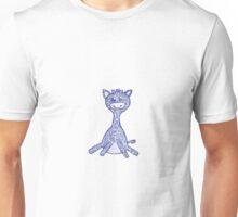 Giraffe, hand drawn, navy blue Unisex T-Shirt