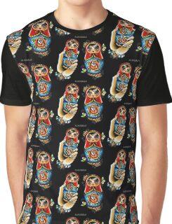 Matryoshkas Flash Graphic T-Shirt