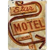 Vintage Star Motel Sign iPad Case/Skin