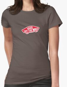 Vans Logo Womens Fitted T-Shirt
