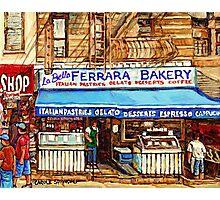 FERRARA BAKERY NEW YORK CITY Photographic Print