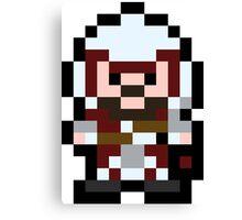 Pixel Ezio Canvas Print