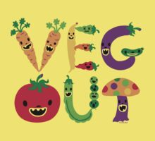 Veg Out Kids Clothes