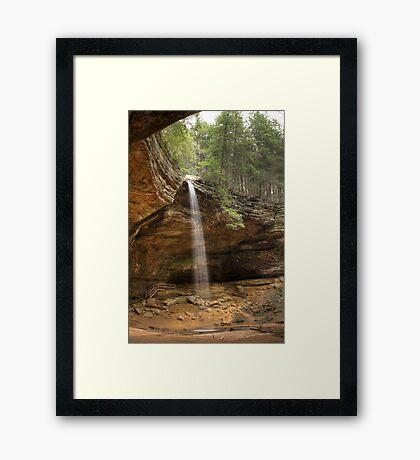 Ash Cave, Hocking Hills, Ohio Framed Print