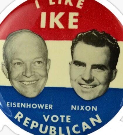 I Like Ike Sticker