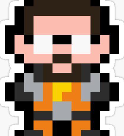 Pixel Gordon Freeman Sticker