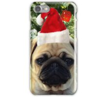 Pug Puppy Dog Christmas Tree Ornaments Snowman Animal iPhone Case/Skin
