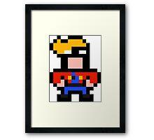 Pixel Blasto Framed Print