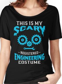 scary Engineering Costume Women's Relaxed Fit T-Shirt