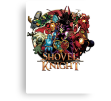 Shovel Knight 1 Canvas Print