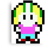 Pixel Commander Keen Canvas Print