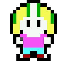 Pixel Commander Keen Photographic Print