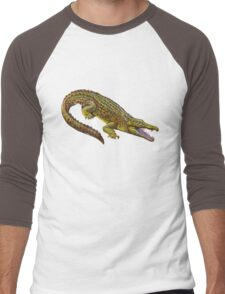 Vintage Crocodile Men's Baseball ¾ T-Shirt