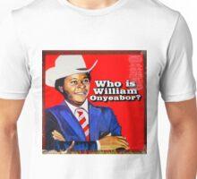 Who is William Onyeabor? Unisex T-Shirt