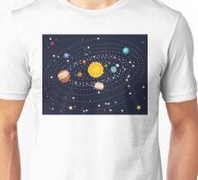 Planets of Solar System Unisex T-Shirt